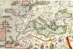 Map of Europe from the Catalan Atlas, A.D. 1375