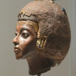 Queen Tiye in the realistic, Akhenaten style